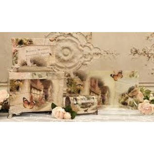 LaBlanche 4x designer paper, 30.5 x 30.05 cm, printed on both sides, cottage