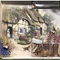 LaBlanche 4x Designerpapier, 30,5 x 30,05 cm, doppelseitig bedruckt, Cottage