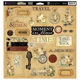 Prima Marketing und Petaloo Grand marketing, les souvenirs des Traverlers, 29 pièces en aggloméré