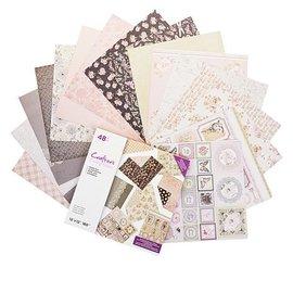 Crafter's Companion ! esclusiva Fiori vintage 30,5 x 30,5 cm, 32 fogli, blocco designer!