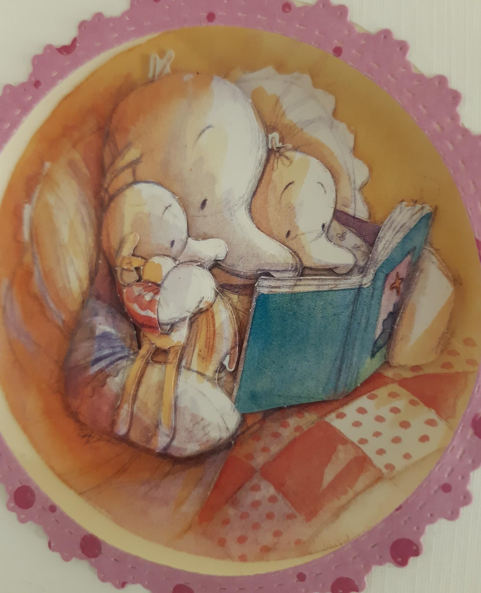 Eine gute Nacht Geschichte ... für Groß und Klein .. in eine 3D Karte Märchenhaft zusammengestellt!
