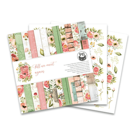 Designer Papier Scrapbooking: 30,5 x 30,5 cm Papier Muy bonita almohadilla de diseño, 12 papeles de doble cara, 30,5 x 30,5 cm.