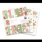 Designer Papier Scrapbooking: 30,5 x 30,5 cm Papier Zeer mooi designkussen, 12 dubbelzijdig papier, 30,5 x 30,5 cm