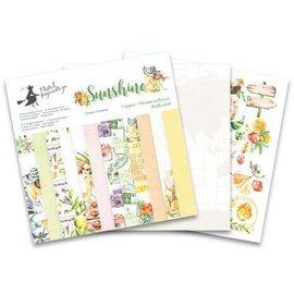 Designer Papier Scrapbooking: 30,5 x 30,5 cm Papier Très joli bloc design, 12 papiers double face, 30,5 x 30,5 cm