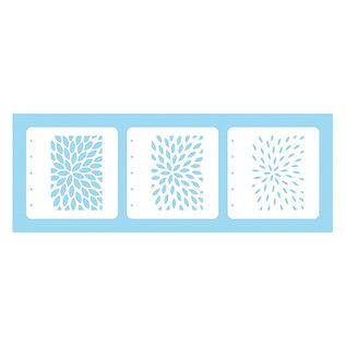 Magic Stencil Sunburst, 3-delige combiset!