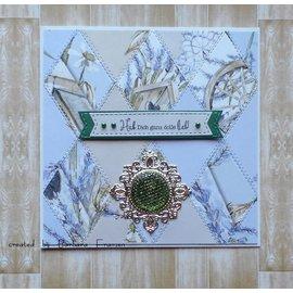 Karten und Scrapbooking Papier, Papier blöcke NYHED! Papirblok, A4, 120 g / m, 40 ark, Lavender Lane Insert-samling.