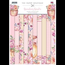 CREATIVE EXPRESSIONS und COUTURE CREATIONS Nouveau! The Paper Boutique, Grandma´s Garden, bloc de papier A4, 40 feuilles, 10 motifs