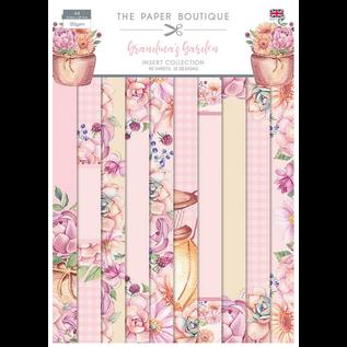 CREATIVE EXPRESSIONS und COUTURE CREATIONS Nieuw! The Paper Boutique, Grandma´s Garden, A4-papierblok, 40 vellen, 10 ontwerpen