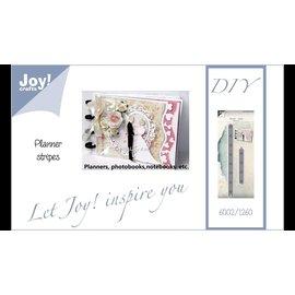 Snijmallen / Snijsjablonen, Joy Crafts, Planner Strips, 6002/1260