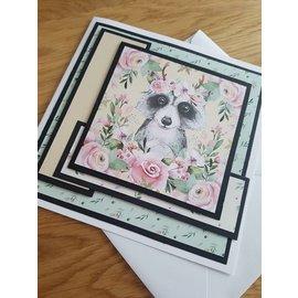 Karten und Scrapbooking Papier, Papier blöcke Carta e scrapbook Paper, A4, collezione di inserti Foresta magica