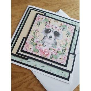 Karten und Scrapbooking Papier, Papier blöcke Kaart- en scrapbook Papier, A4, Magical Forest Insert Collection