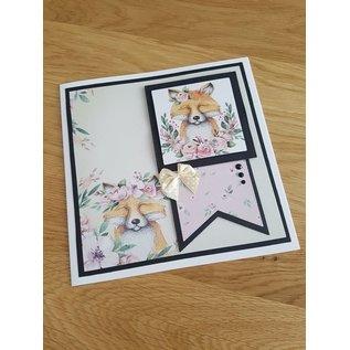 Karten und Scrapbooking Papier, Papier blöcke Card and Scrapbook Paper, A4, Magical Forest Insert Collection