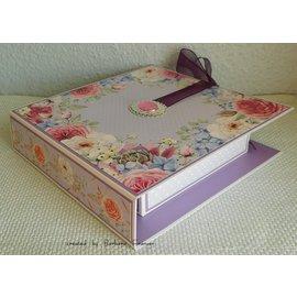Karten und Scrapbooking Papier, Papier blöcke NOUVEAU! Bloc de papier, 36 feuilles, 17 x 17 cm, 160 g / m2