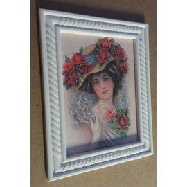 NOUVEAU! Cadre décoratif 3D 9,5 x 7,5 cm, 4 mm d'épaisseur, en plastique