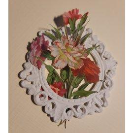 NIEUW! Decoratief frame 3D printen, formaat 8.0 cm, 3 mm dik, gemaakt van kunststof
