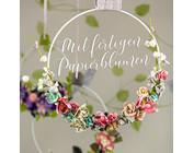 Alles für Blumen Dekorationen, Karten, Alben, und auch 3D Blumen Gestaltung