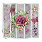 """Papier A4 SET Paperdreams """"Rose"""" 10 feuilles dont 2 feuilles 190gr!"""