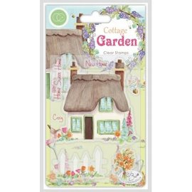 Craftemotions Frimærke, banner, Cottage Garden