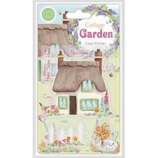 Craftemotions Stempel, banner, Cottage Garden