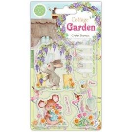 Craftemotions Stamp, banner, Cottage Garden - Copy