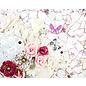 Prima Marketing und Petaloo Designer pad, Pretty Mosaic, 15 x 15 cm, 45 fogli!
