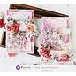 Prima Marketing und Petaloo Tablette design, Pretty Mosaic, 15 x 15 cm, 45 feuilles!