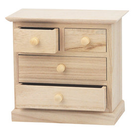 Holz, MDF, Pappe, Objekten zum Dekorieren 1 armoire en bois, pour décorer et ranger rubans, embellissements, etc.