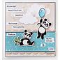 Marianne Design Eline's dieren - Panda's, stempels en stanssjablonen pakketformaat: 150 x 210 mm