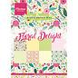 Marianne Design Tapis design, Floral Delight, A5, modèles 4x8