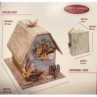 Stamperia und Florella ACTIE! Stamperia House of Journals Kit