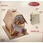Stamperia und Florella ACTION! Kit de la Maison des journaux Stamperia