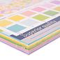 Designer Papier Scrapbooking: 30,5 x 30,5 cm Papier Florence, papier cartonné lisse, 30,5x30,5 cm, 60 feuilles! 12x5