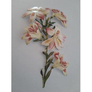 Bilder, 3D Bilder und ausgestanzte Teile usw... 3D Die cut sheets: Rosen