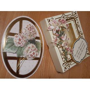 Bilder, 3D Bilder und ausgestanzte Teile usw... 3D Stanzbogen: Blumen