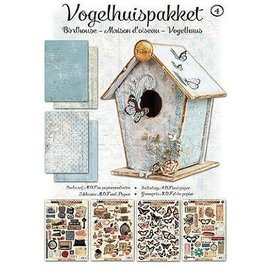Studio Light Kit de manualidades Vogelhaus completo con MDF y papel