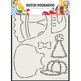 Dutch DooBaDoo Art template DDBD Dutch Mask Art, kleding voor de beer