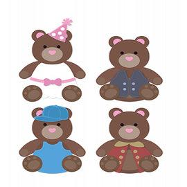 Dutch DooBaDoo Art template DDBD Dutch Mask Art, kleding voor de beer