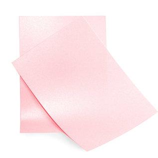 Elegant glitrende A4-papir Baby Pink
