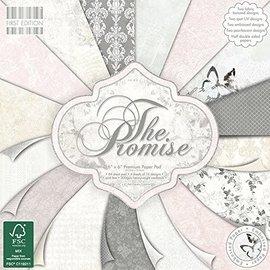 Første udgave, papirblok 20 x 20 cm, Promise Premium-papirpuden