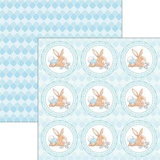 Karten und Scrapbooking Papier, Papier blöcke Ciao Bella, designerblok, 30,5 x 30,5 cm, Ninna Nanna Boy