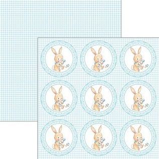 Karten und Scrapbooking Papier, Papier blöcke Ciao Bella, blocco di design, 30,5 x 30,5 cm, Ninna Nanna Boy