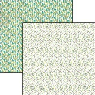 Karten und Scrapbooking Papier, Papier blöcke Designerblock, Neverland 15,2 x 15,2 cm, 24 Blatt!