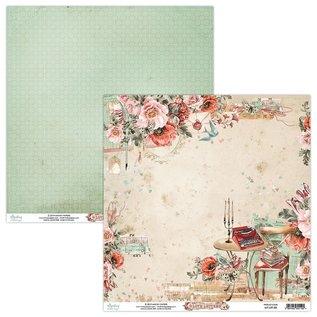 Mintay und Ciao Bella Designer pad, Love Letters, 30,5 x 30,5 cm