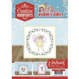A4 SET Bubbly Girls, mit 8 Motive für Hobby Dots und  8 3D Motive
