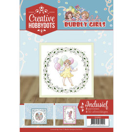 HobbyDots A4 SET Bubbly Girls, with 8 motifs for hobby dots and 8 3D motifs