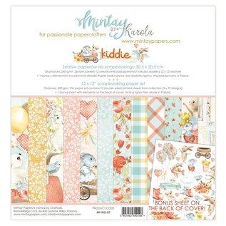 "Mintay Mintay, bloc design, ""Kiddie"" 30,5 x 30,5 cm, 240 grammes"
