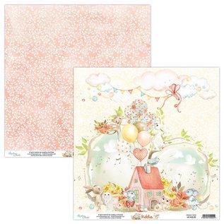 "Mintay und Ciao Bella Mintay, Designerblock,  ""Kiddie"" 30,5 x 30,5 cm, 240 Gramatur"