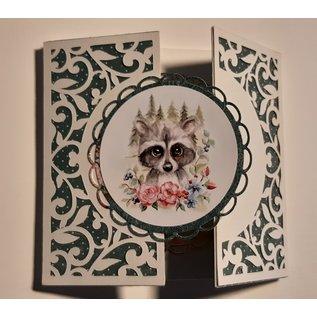 Yvonne A4-bog med masser af smukke motiver! til 24 kort!
