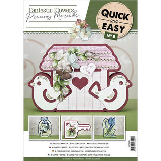 Precious Marieke Craft book: Quick and Easy 8 - Fantastic Flowers