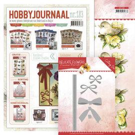 Bücher, Zeitschriften und CD / Magazines Hobby-dagboek nr. 183 + stanssjabloon